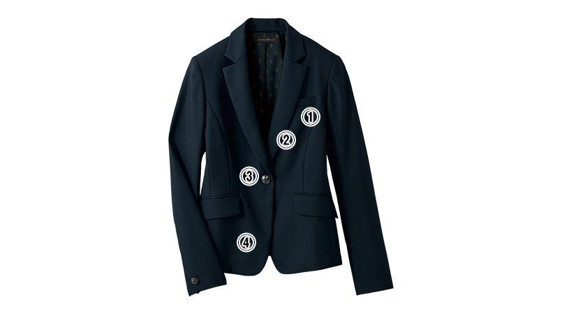 SELERY(セロリー) S-24690 [通年]PATRICK COX(パトリック・コックス) ニオイや汚れに強いジャケット [無地] 商品詳細・こだわりPOINT
