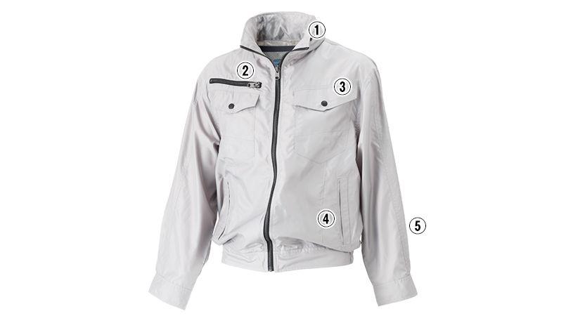 05810SET シンメン S-AIR フードインジャケット(男性用) 商品詳細・こだわりPOINT