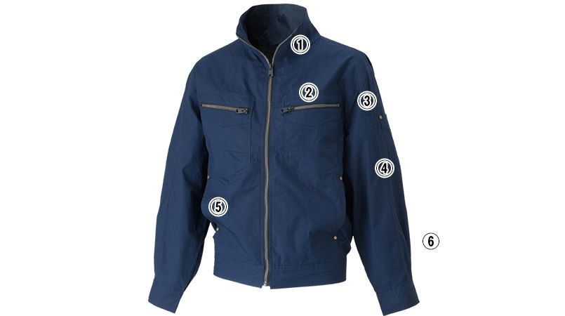 05830SET  シンメン S-AIR コットンワークジャケット(男性用) 商品詳細・こだわりPOINT