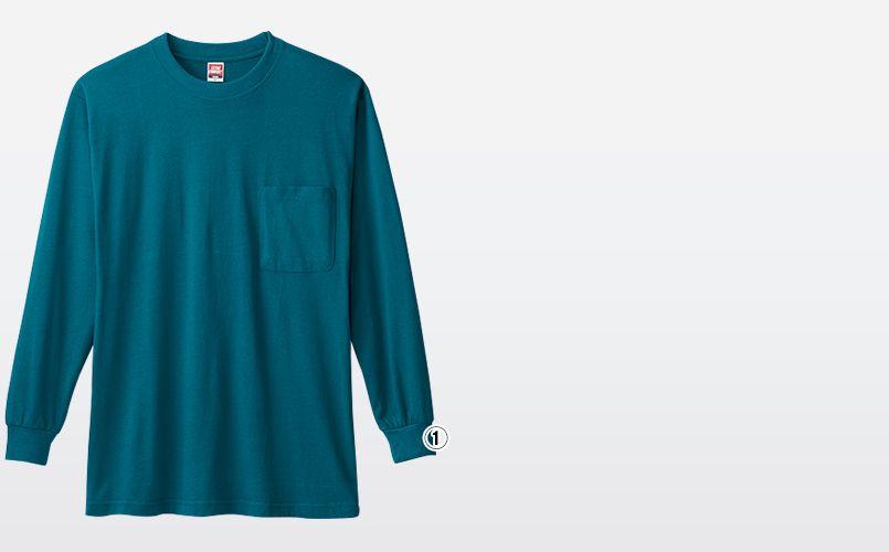 0002 桑和 長袖Tシャツ(ポケ付き) 商品詳細・こだわりPOINT