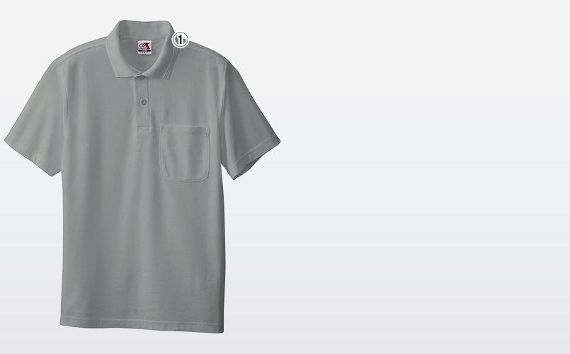 0027 桑和 T/Cポロシャツ(ポケ付き) 商品詳細・こだわりPOINT