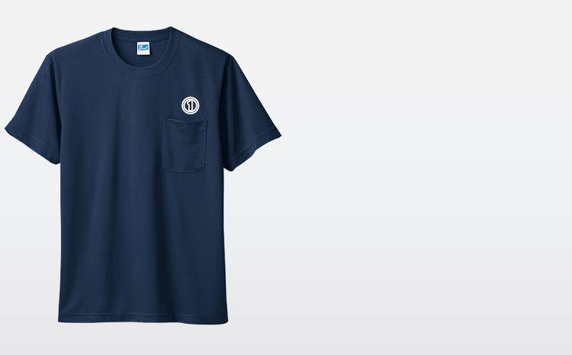 50121 桑和 ドライTシャツ(ポケ付き) 商品詳細・こだわりPOINT