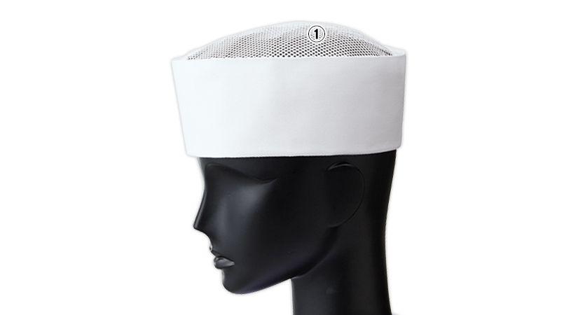 3 Servo(サーヴォ) 天メッシュ丸帽 商品詳細・こだわりPOINT