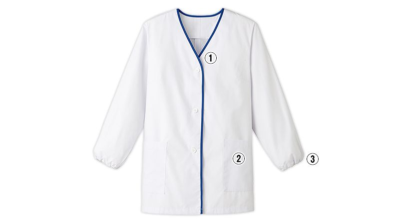 FA-348 Servo(サーヴォ) デザイン白衣/長袖(女性用) 商品詳細・こだわりPOINT