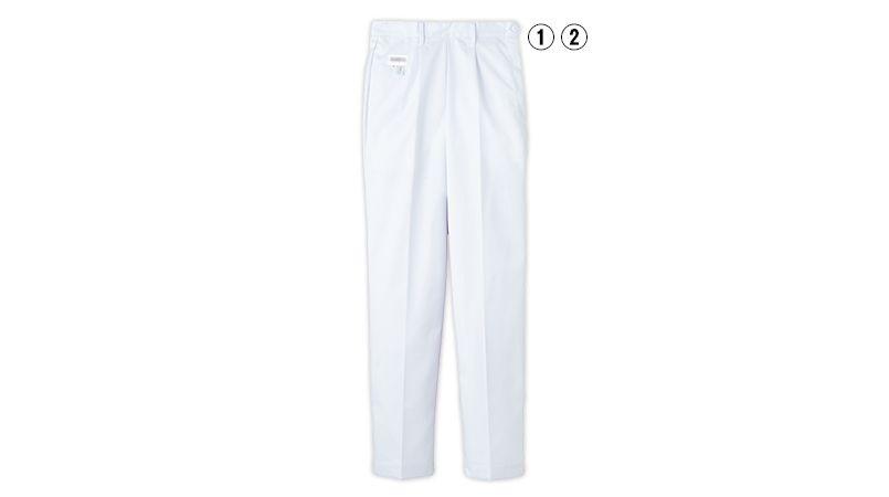 FH-1111 Servo(サーヴォ) 白パンツ(後ろゴム入)(女性用) 商品詳細・こだわりPOINT