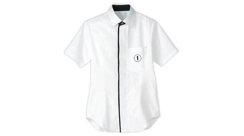 HT-5856 5857 Servo(サーヴォ) シャツ/半袖(男女兼用) 商品詳細・こだわりPOINT