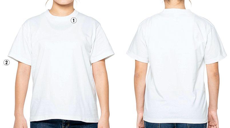 00148-HVT 7.4オンス スーパーヘビーTシャツ(男女兼用) 商品詳細・こだわりPOINT