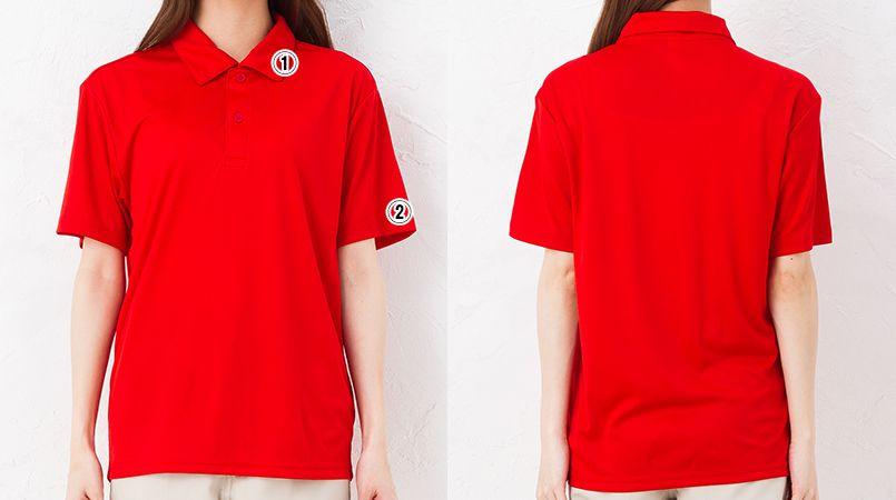 3.5オンス インターロックドライポロシャツ(男女兼用) 商品詳細・こだわりPOINT