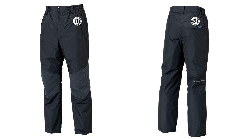 18242 TS DESIGN メガヒートES防水防寒パンツ(男女兼用) 商品詳細・こだわりPOINT