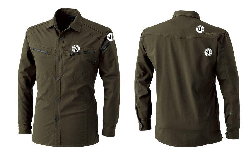 TS DESIGN 5305 [春夏用]ライトテックロングスリーブシャツ(男女兼用) 商品詳細・こだわりPOINT