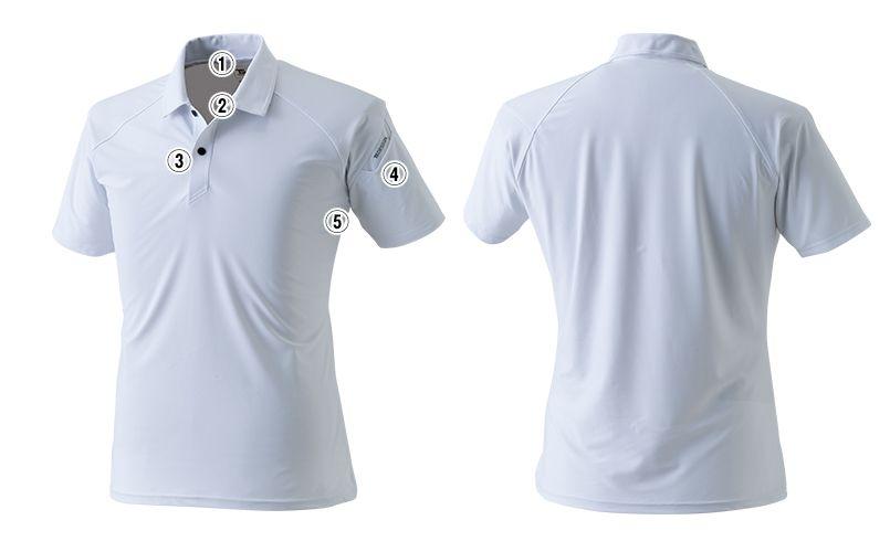 TS DESIGN 8065 [春夏用]クールアイス半袖ポロシャツ(男女兼用) 商品詳細・こだわりPOINT
