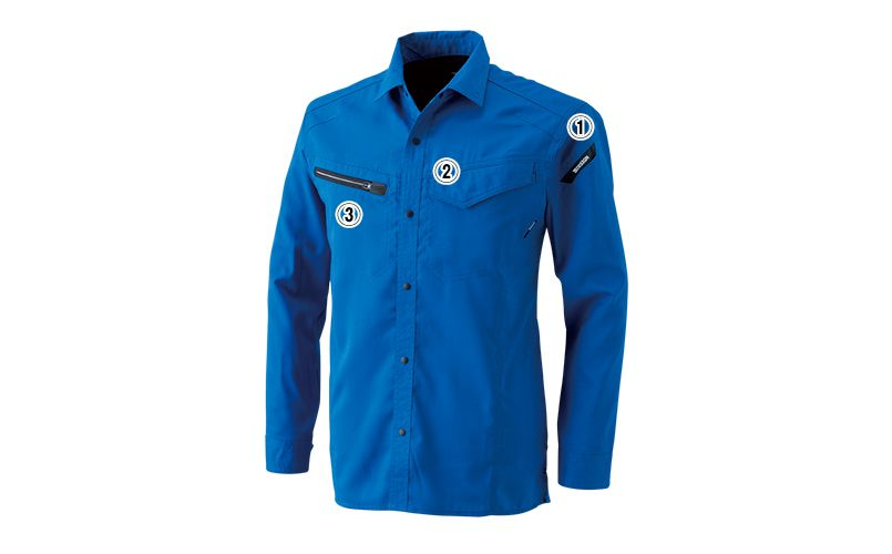 8105 TS DESIGN [通年]AIR ACTIVE ロングスリーブシャツ(男女兼用) 商品詳細・こだわりPOINT