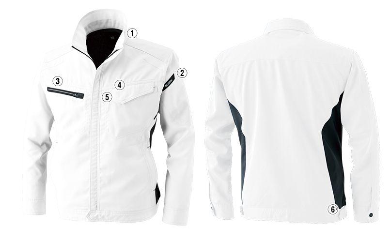 TS DESIGN 8106 [通年]AIR ACTIVE ロングスリーブジャケット(男女兼用) 商品詳細・こだわりPOINT