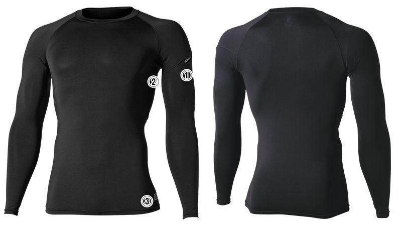 TS DESIGN 81251 [通年]ES DEO メンズロングスリーブシャツ 商品詳細・こだわりPOINT