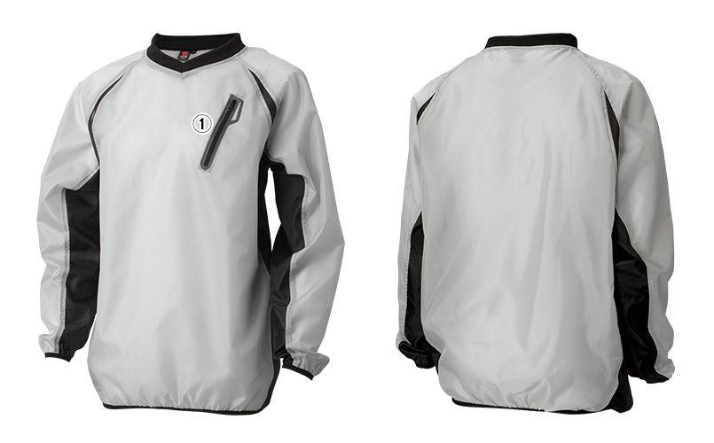 TS DESIGN 84335 [春夏用]リップストップ ウインドブレーカーシャツ(男女兼用) 商品詳細・こだわりPOINT