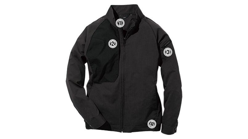 TS DESIGN 84606 [春夏用]ハイブリッドサマーワークジャケット(男女兼用) 商品詳細・こだわりPOINT