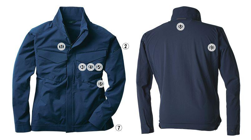 TS DESIGN 9116 [通年]TS 4D ジャケット 商品詳細・こだわりPOINT