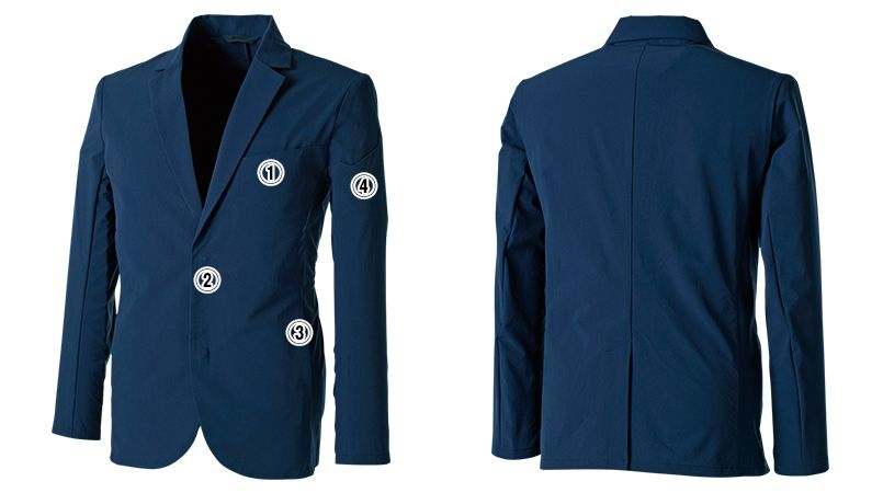 TS DESIGN 9136 [通年]TS 4D ステルス メンズジャケット 商品詳細・こだわりPOINT