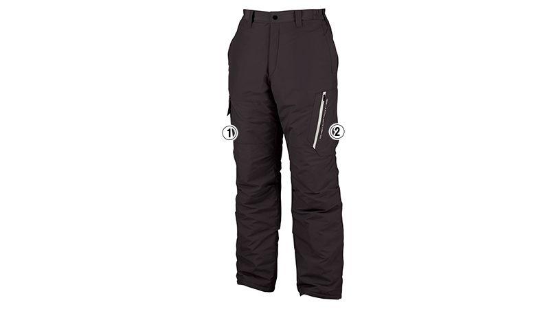 ジーベック 120 防寒パンツ 商品詳細・こだわりPOINT