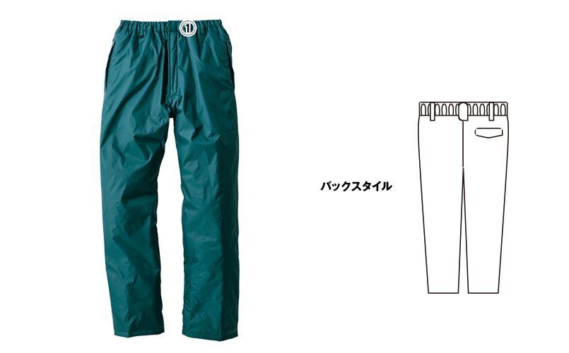 [在庫限り/返品交換不可]ジーベック 550 防水透湿防寒パンツ 商品詳細・こだわりPOINT