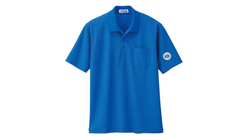 ジーベック 6100 帯電防止半袖T/Cポロシャツ(胸ポケット有り)(男女兼用) 商品詳細・こだわりPOINT