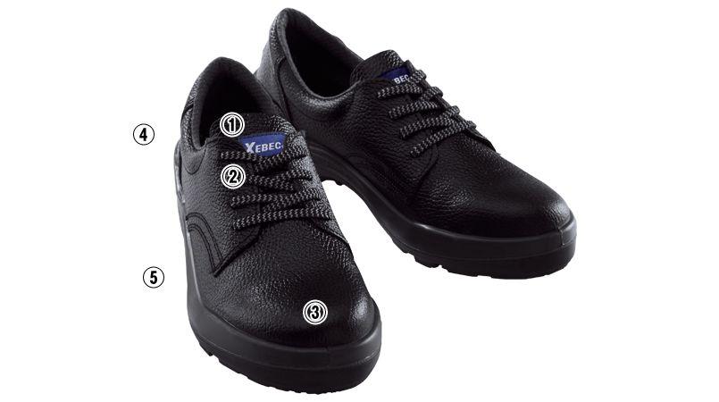ジーベック 85021 安全短靴 樹脂先芯 商品詳細・こだわりPOINT