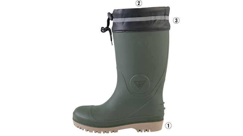 ジーベック 85721 防寒安全長靴[先芯入り] 商品詳細・こだわりPOINT