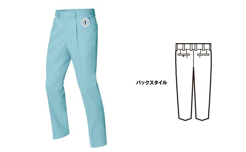 ジーベック 9900 [春夏用]ツータック スラックス 商品詳細・こだわりPOINT