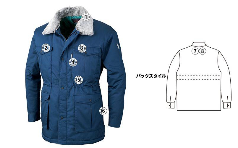 ジーベック 991 超撥水リサイクリーン防寒コート 商品詳細・こだわりPOINT