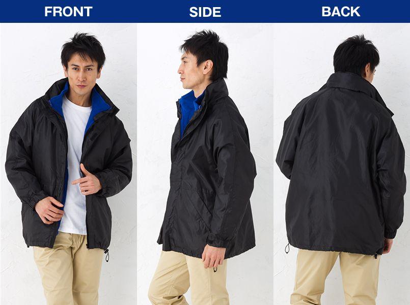 AZ7805 アイトス [在庫限り]AZ7805 アイトス 3WAYジャケット カナディアンクリーク モデル前後(メンズ)