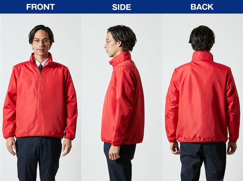 マイクロリップストップ スタッフ ジャケット(一重) モデル前後(メンズ)