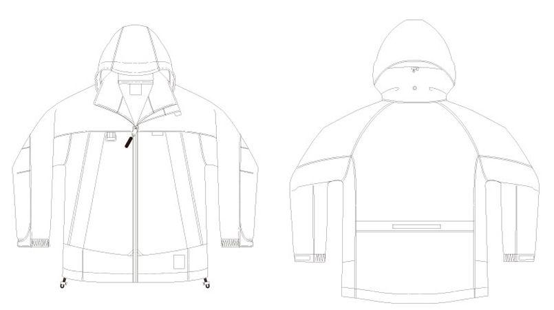 アイトス AZ56312 ディアプレックス 全天候型レディースジャケット(女性用) ハンガーイラスト・線画