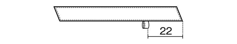 28323 BONUNI(ボストン商会) ワンタッチコックタイ(男女兼用) ハンガーイラスト・線画