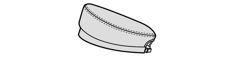 28324 BONUNI(ボストン商会) ベレー帽(男女兼用) グレンチェック ハンガーイラスト・線画