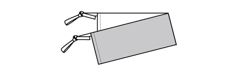98217 BONUNI(ボストン商会) 和風ベルト(女性用) ハンガーイラスト・線画