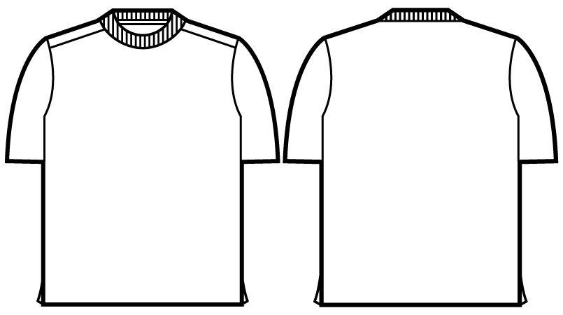自重堂Jawin 55314 吸汗速乾半袖ドライTシャツ(胸ポケット無し) ハンガーイラスト・線画