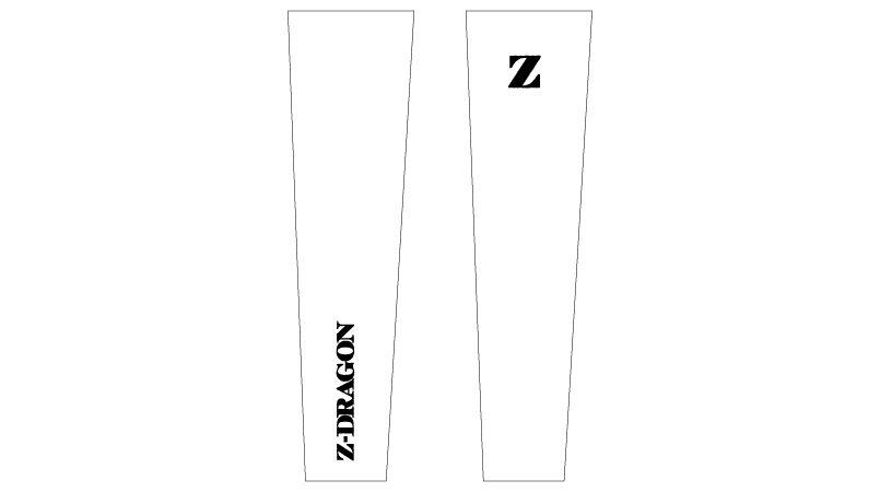 75129 自重堂Z-DRAGON [春夏用]アームカバー ハンガーイラスト・線画