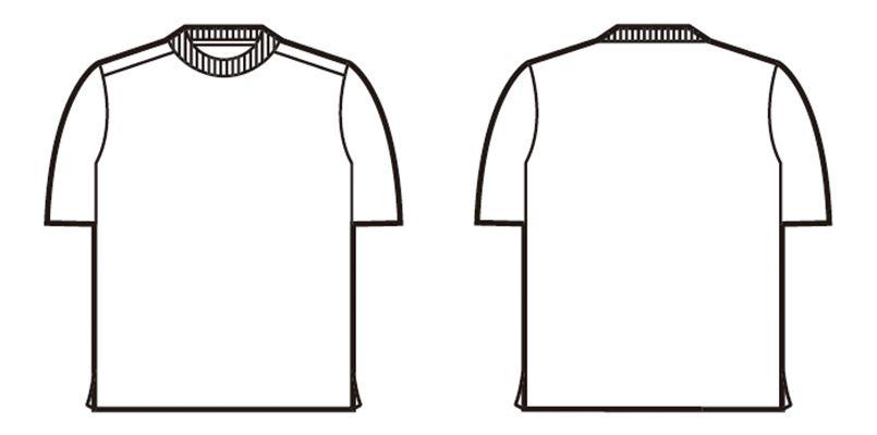 自重堂 85234 吸汗速乾半袖Tシャツ ハンガーイラスト・線画
