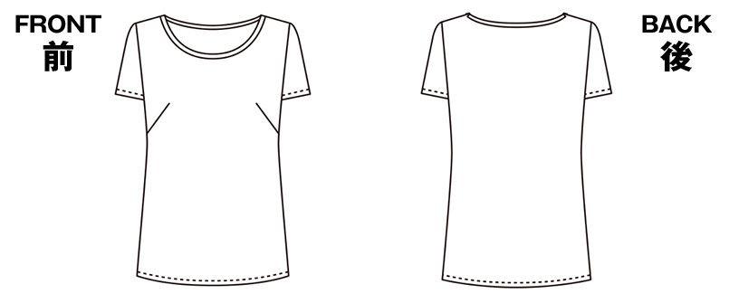 ENJOY EST082 [春夏用]着回しやすさNo1!安らぎを感じる極上スタンダード 半袖プルオーバー ハンガーイラスト・線画