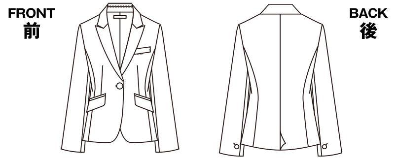 S-24801 24809 パトリックコックス [通年]ジャケット ブラインドチェック ハンガーイラスト・線画