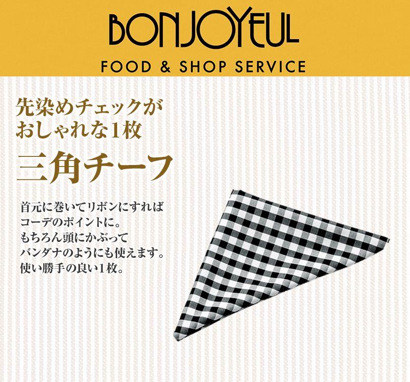 04007 BONUNI(ボストン商会) 三角チーフ(男女兼用) 先染チェック