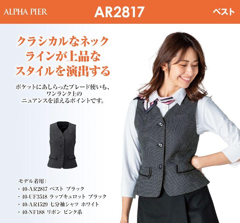 アルファピア AR2817 ベスト クリスタル・バーズアイ ドット