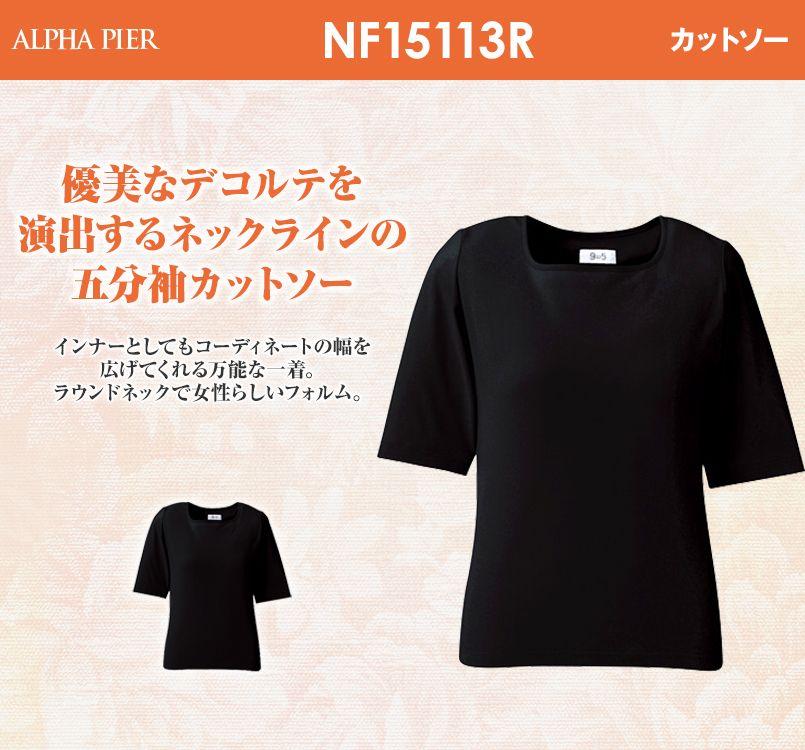 アルファピア NF15113R 15120R カットソー ニット