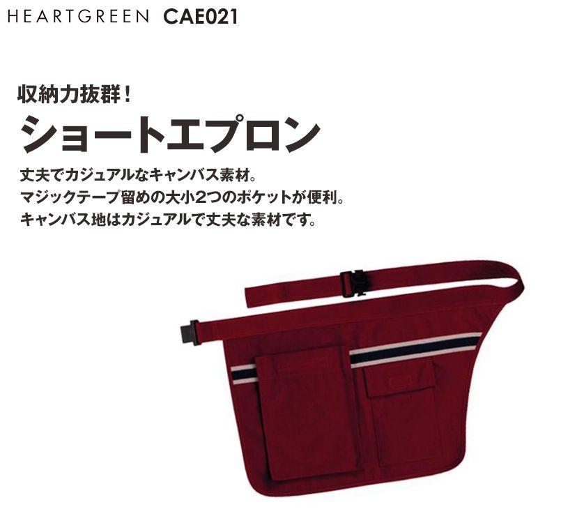 CAE021 ハートグリーン エプロン