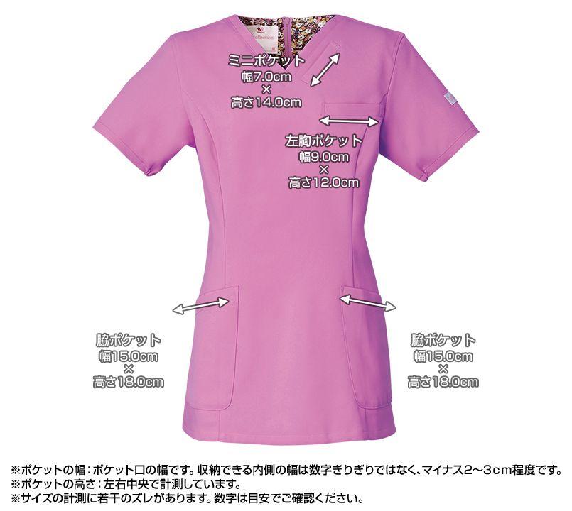 HI700 ワコール スクラブ レディース(女性用) ポケットサイズ