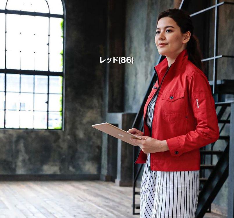 バートル バートル 5250 レイザージャケット(男女兼用) 11-5250 レイザージャケット モデル着用雰囲気2