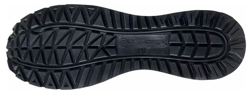 自重堂 S2161 Field Message 耐滑セーフティスニーカー スチール先芯 アウトソール・靴底