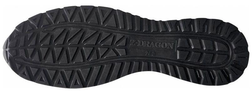 自重堂 S3161 Z-DRAGON 耐滑・軽量のセーフティスニーカー 樹脂先芯 アウトソール・靴底