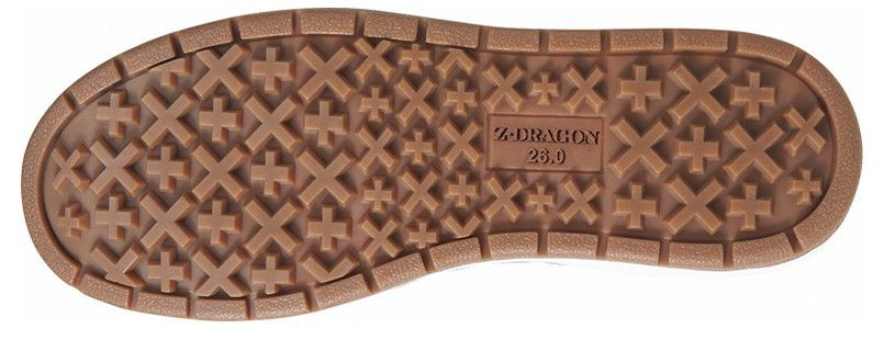自重堂 S5163-1 Z-DRAGON ミドルカットセーフティスニーカー スチール先芯 アウトソール・靴底