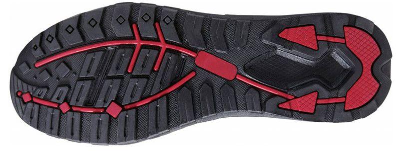 自重堂 S6161 Z-DRAGON グラデーションセーフティスニーカー 樹脂先芯 アウトソール・靴底